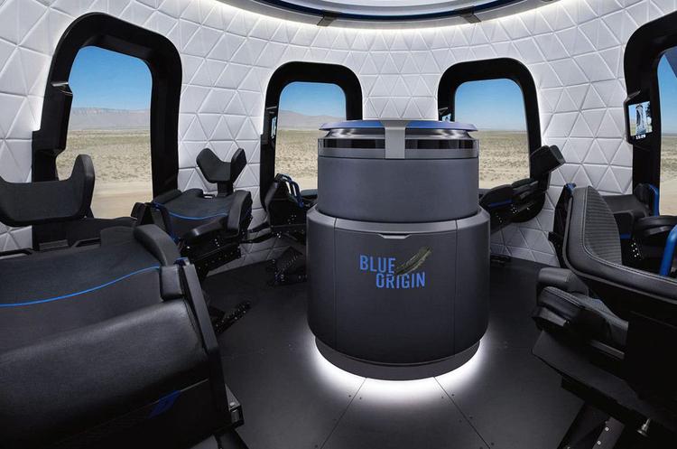 Blue Origin планує відправити перших туристів у космос вже в квітні цього року