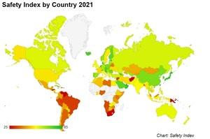 У рейтингу безпечних країн Білорусь втратила 98 позицій