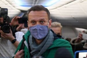 Україна висловила «глибоке занепокоєння» затриманням Навального