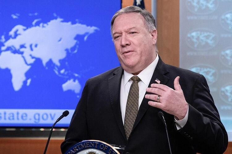 Помпео згадав Україну в заяві про нові санкції США щодо «Північного потоку 2»