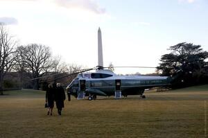 Це кінець: Трамп покинув Білий дім, відмовившись бути присутнім на інавгурації Байдена