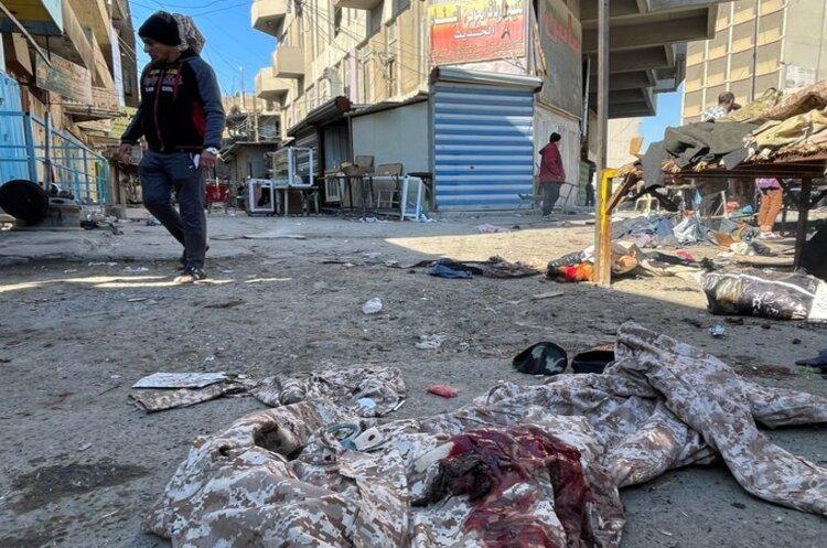 В Іраку на ринку в центрі Багдада стався теракт - смертники влаштували два вибухи
