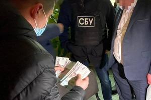 Начальника Житомирського облдепартаменту охорони здоров'я затримано на хабарі