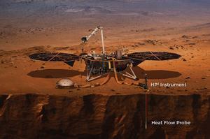 «Кріт» NASA так і не зміг пробурити грунт на Марсі, вчені намагалися це зробити 2 роки