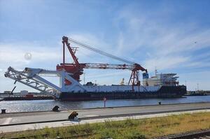 Російське судно почало роботи з відновлення будівництва «Північного потоку – 2» у водах Данії