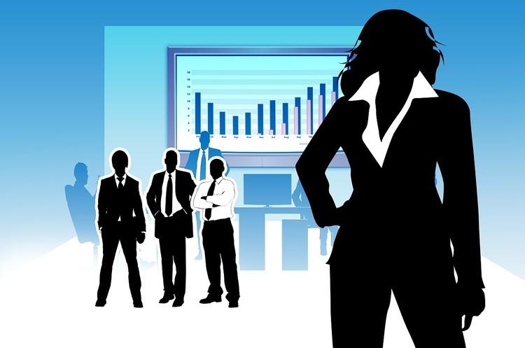 Давос-2021: Компанії, очолювані жінками, отримують менше фінансування, ніж ті, в яких на чолі чоловіки
