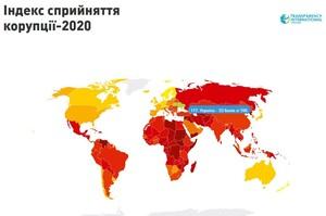 Україна покращила показники в Індексі сприйняття корупції від Transparency International
