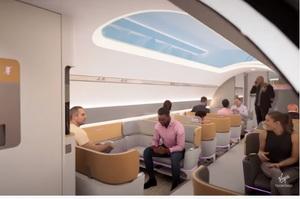 Virgin Hyperloop показала дизайн капсул надшвидкісних поїздів (ВІДЕО)