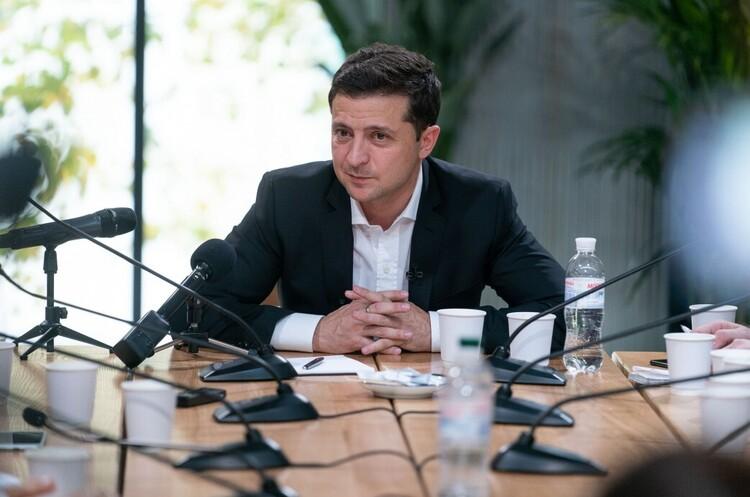 Зеленський заявив про тиск з боку Трампа та висловив сподівання на перезавантаження відносин з США