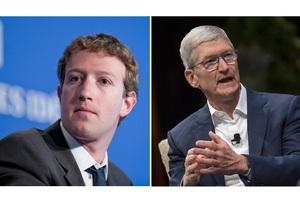 Між Марком Цукербергом і Тімом Куком спалахнула ворожнеча – WSJ