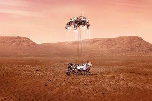 Американський марсохід здійснив успішну посадку на Марс