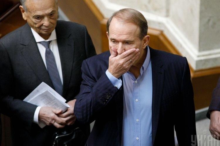 РНБО запровадила санкції проти Медведчука й Оксани Марченко
