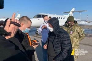 У «Борисполі» посадили літак з фігурантом справи ПриватБанку