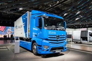 Daimler Truck почне виробництво електричної вантажівки eActros в цьому році