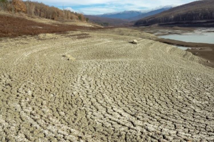 У Криму пересохли два водосховища
