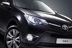 Регулятори у США почали розслідування щодо 2 млн Toyota RAV4 через небезпеку загоряння