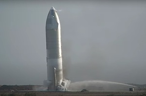 Прототип космічного корабля Starship компанії SpaceX вибухнув після успішної посадки