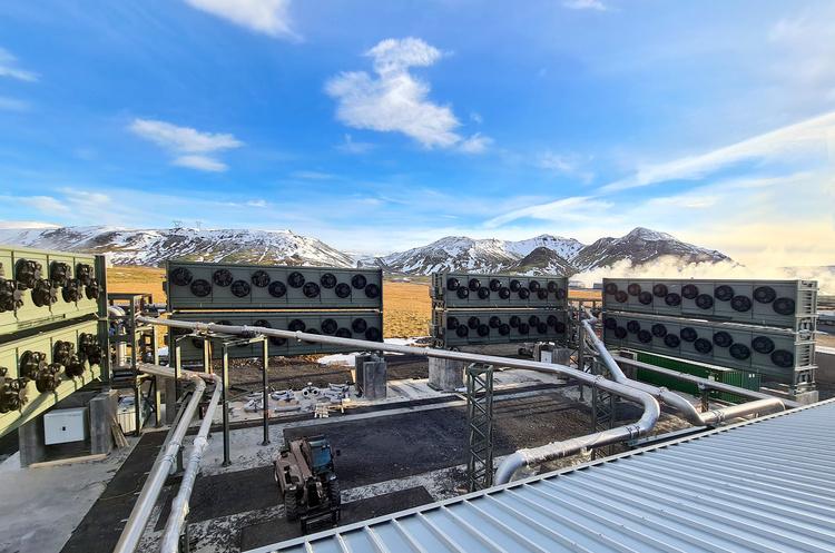 Ісландський стартап перетворює вуглекислий газ на каміння