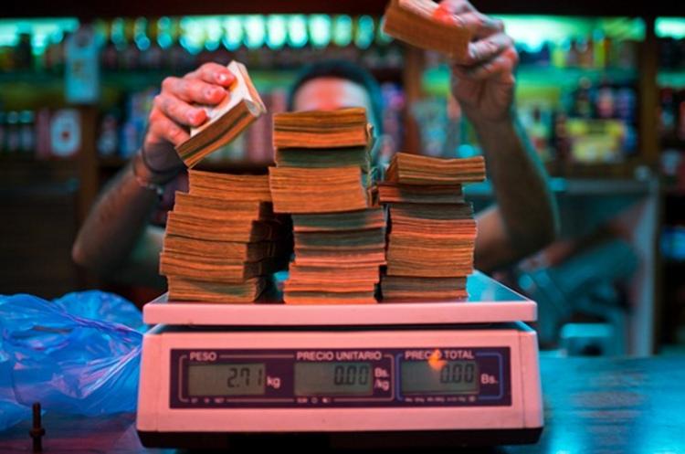 Гіперінфляція змусила Венесуелу надрукувати болівар номіналом в один мільйон