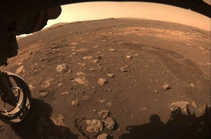 Американський марсохід Perseverance  проїхав перші метри по поверхні Марса