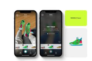 Gucci разом з білоруськими ІТ-шниками розробила цифрові кросівки
