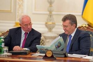 Під санкції Ради нацбезпеки потрапили Янукович і Азаров