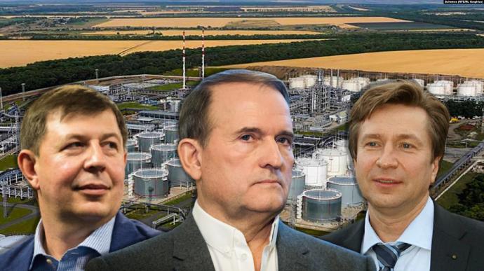 Медведчук та Козак у дні окупації Криму придбали нафтовий бізнес у Росії – «Схеми»