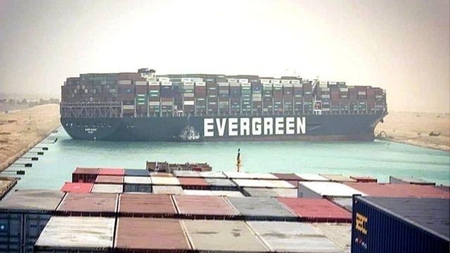 Страховик оцінив збитки для світової торгівлі від блокування Суецького каналу