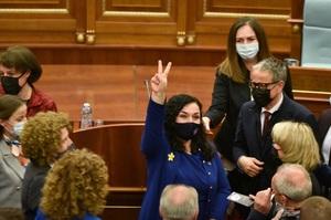 Обрали президентку Косова