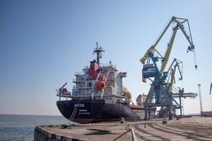 У І кварталі цього року українські морпорти зменшили обробку вантажів на 20,5%