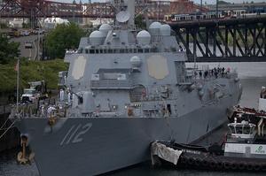 Два військові кораблі США увійдуть в Чорне море 14 і 15 квітня