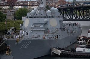 Два ракетних кораблі ВМС США, що йдуть у Чорне море, увійшли до Середземномор'я