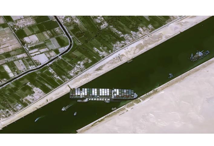 Єгипет затримав контейнеровоз Ever Given та чекає відшкодувань в $1 млрд