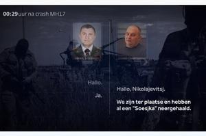 Нідерландський телеканал оприлюднив перехоплені розмови обвинувачених у катастрофі MH-17