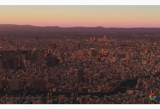 Google Earth додала функцію Timelapse - можна побачити, як забудовувалися міста в останні 37 років