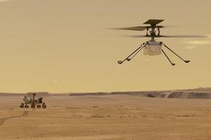 NASA здійснило перший політ вертольота на Марсі