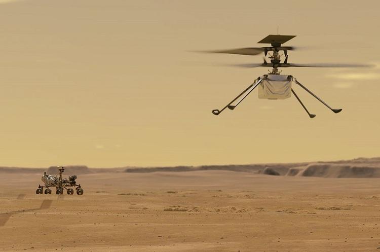NASA успішно здійснило другий політ вертольота на Марсі