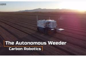 Американський стартап представив робота, який знищує бур'яни лазерами (ВІДЕО)