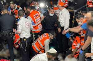 Унаслідок тисняви на ізраїльському релігійному фестивалі загинули 44 людини