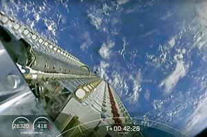 SpaceX вивела на орбіту чергову партію супутників Starlink