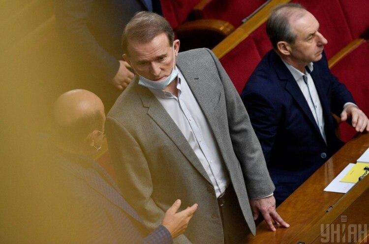 Венедіктова підписала підозру у держзраді Віктору Медведчуку та нардепу Тарасу Козаку