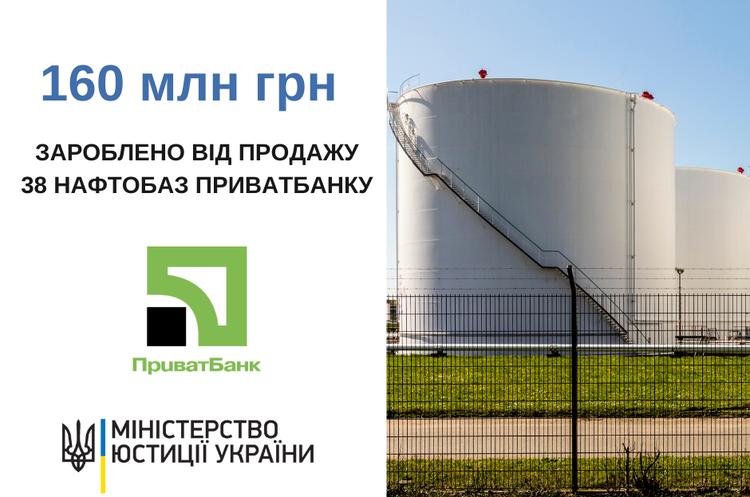 СЕТАМ продав 38 нафтобаз ПриватБанку на 160 млн грн