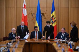 Україна, Грузія та Молдова започаткували «Асоційоване тріо» для спільного вступу в ЄС