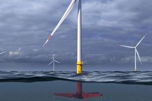 General Electric розробляє глибоководні плавучі вітрогенератори