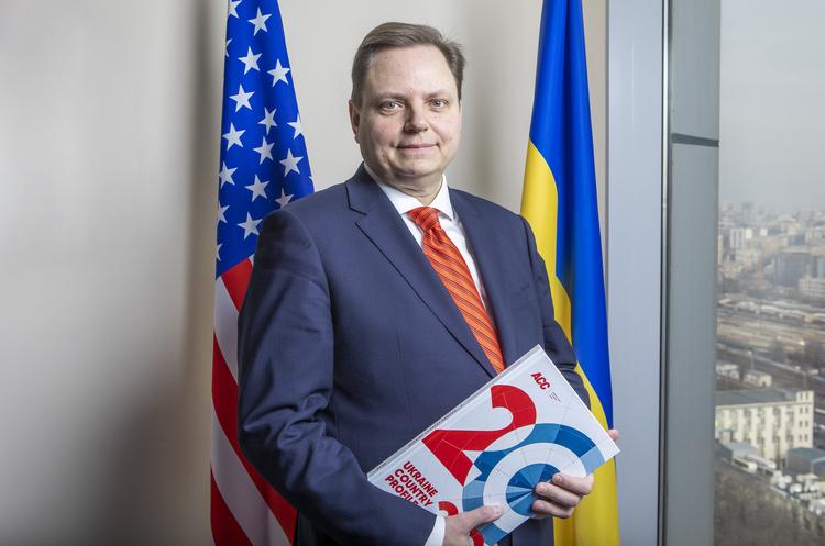 Президент Американской торговой палаты в Украине: «Значительно труднее привести в Украину новых инвесторов, чем удержать тех, кто есть»