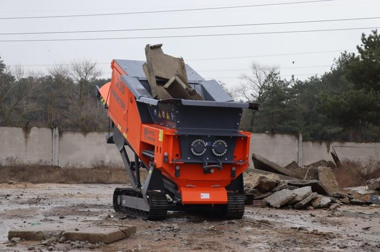 НЭК «Укрэнерго» будет перерабатывать строительные отходы после реконструкции подстанций вместо утилизации