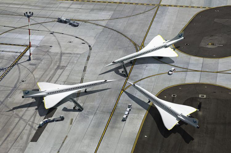 United Airlines замовила 15 надзвукових «повністю екологічних» літаків Overture
