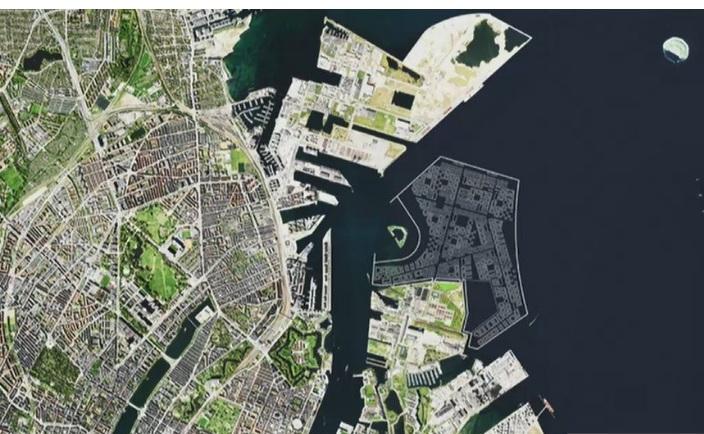 В Данії біля Копенгагена збудують гігантський штучний острів