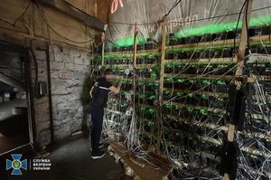 СБУ заблокувала незаконну майнінг-ферму