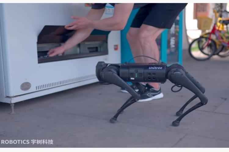Китайська компанія випустила «робособаку» за $2700 - в 27,5 разів дешевше, ніж у Boston Dynamics